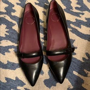 Marc by Marc Jacobs Black Ballerina Flats Size 40